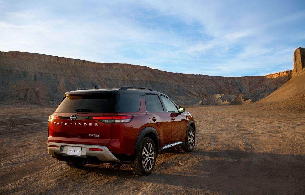 Îl mai țineți minte pe Nissan Pathfinder? O nouă generație a fost lansată în America - Poza 25