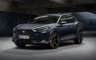 Cupra Formentor primește noi versiuni în România: 27.000 de euro pentru motorul de 1.5 litri și 150 CP
