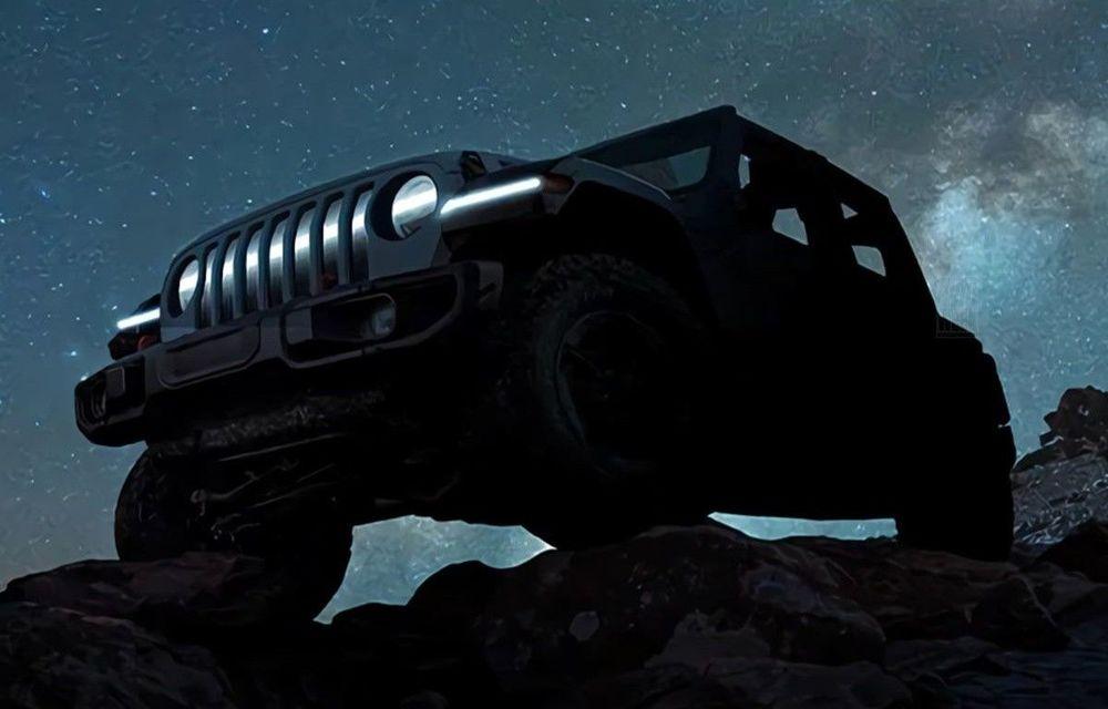 Jeep pregătește un Wrangler 100% electric: conceptul va fi prezentat la sfârșitul lui martie - Poza 1