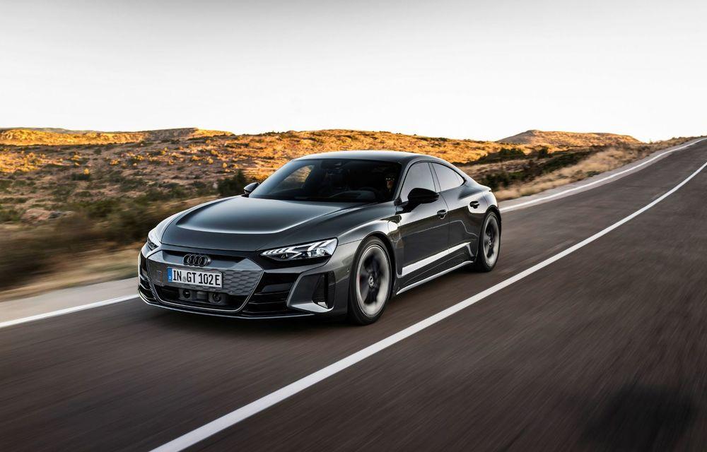 OFICIAL: Acesta este noul Audi e-tron GT, un supercar electric, frate cu Porsche Taycan - Poza 44