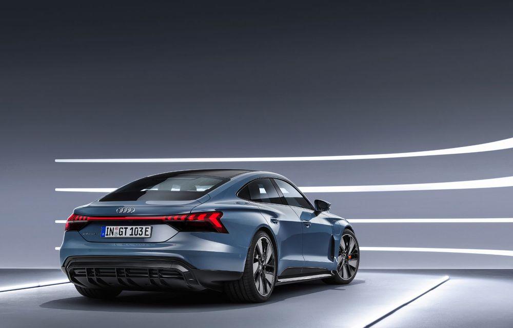 OFICIAL: Acesta este noul Audi e-tron GT, un supercar electric, frate cu Porsche Taycan - Poza 2