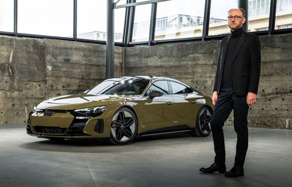 OFICIAL: Acesta este noul Audi e-tron GT, un supercar electric, frate cu Porsche Taycan - Poza 16