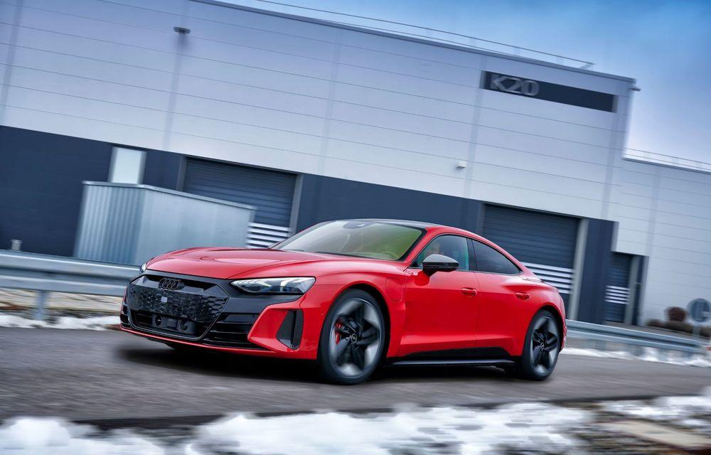 OFICIAL: Acesta este noul Audi e-tron GT, un supercar electric, frate cu Porsche Taycan - Poza 51