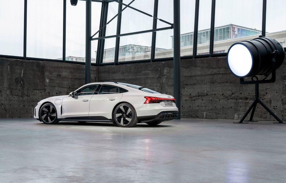 OFICIAL: Acesta este noul Audi e-tron GT, un supercar electric, frate cu Porsche Taycan - Poza 30