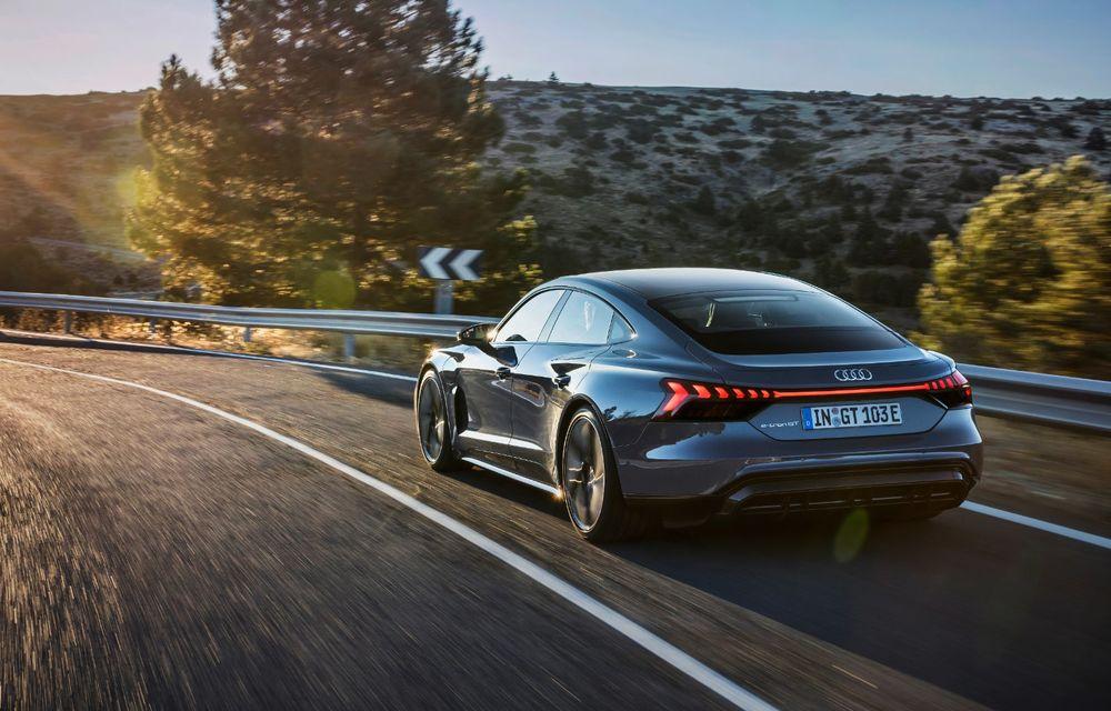 OFICIAL: Acesta este noul Audi e-tron GT, un supercar electric, frate cu Porsche Taycan - Poza 12