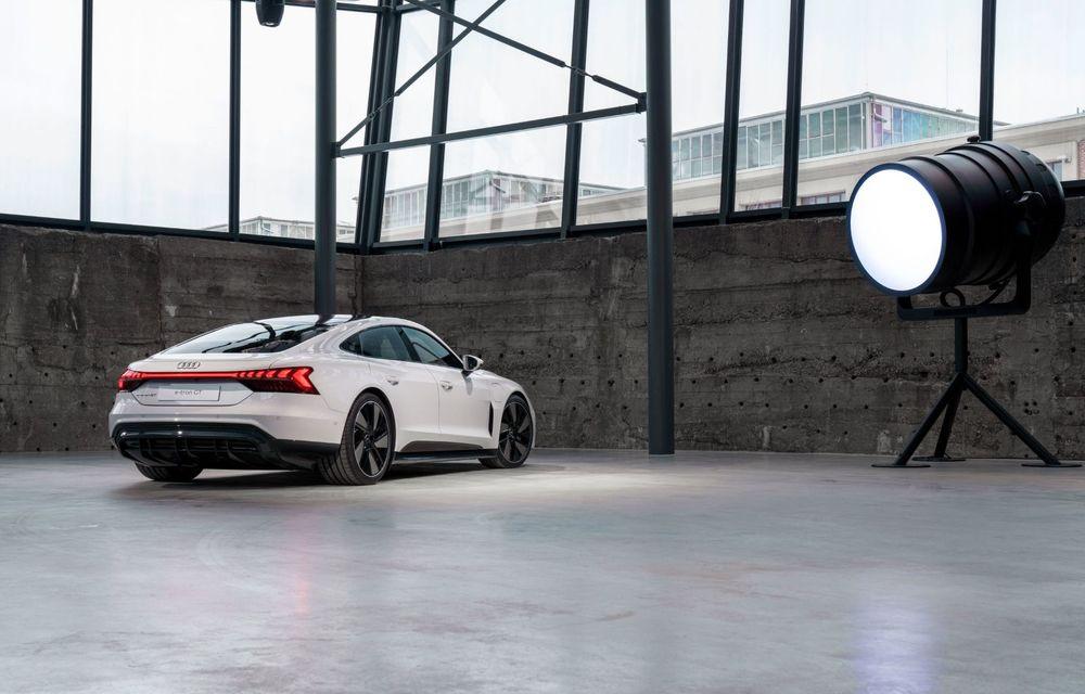 OFICIAL: Acesta este noul Audi e-tron GT, un supercar electric, frate cu Porsche Taycan - Poza 27