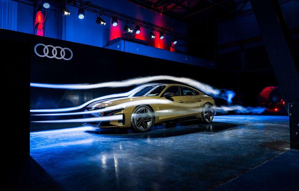 OFICIAL: Acesta este noul Audi e-tron GT, un supercar electric, frate cu Porsche Taycan - Poza 46