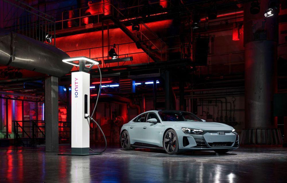 OFICIAL: Acesta este noul Audi e-tron GT, un supercar electric, frate cu Porsche Taycan - Poza 49
