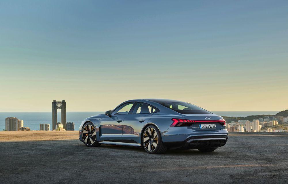 OFICIAL: Acesta este noul Audi e-tron GT, un supercar electric, frate cu Porsche Taycan - Poza 13