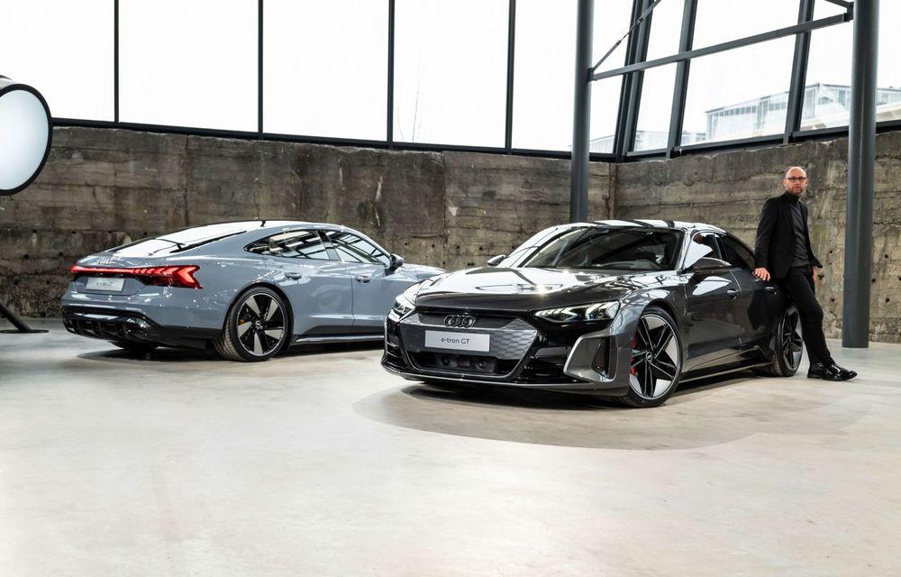 OFICIAL: Acesta este noul Audi e-tron GT, un supercar electric, frate cu Porsche Taycan - Poza 26