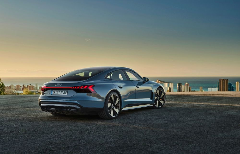 OFICIAL: Acesta este noul Audi e-tron GT, un supercar electric, frate cu Porsche Taycan - Poza 7