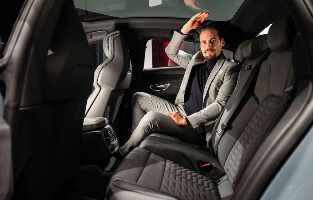 OFICIAL: Acesta este noul Audi e-tron GT, un supercar electric, frate cu Porsche Taycan - Poza 50