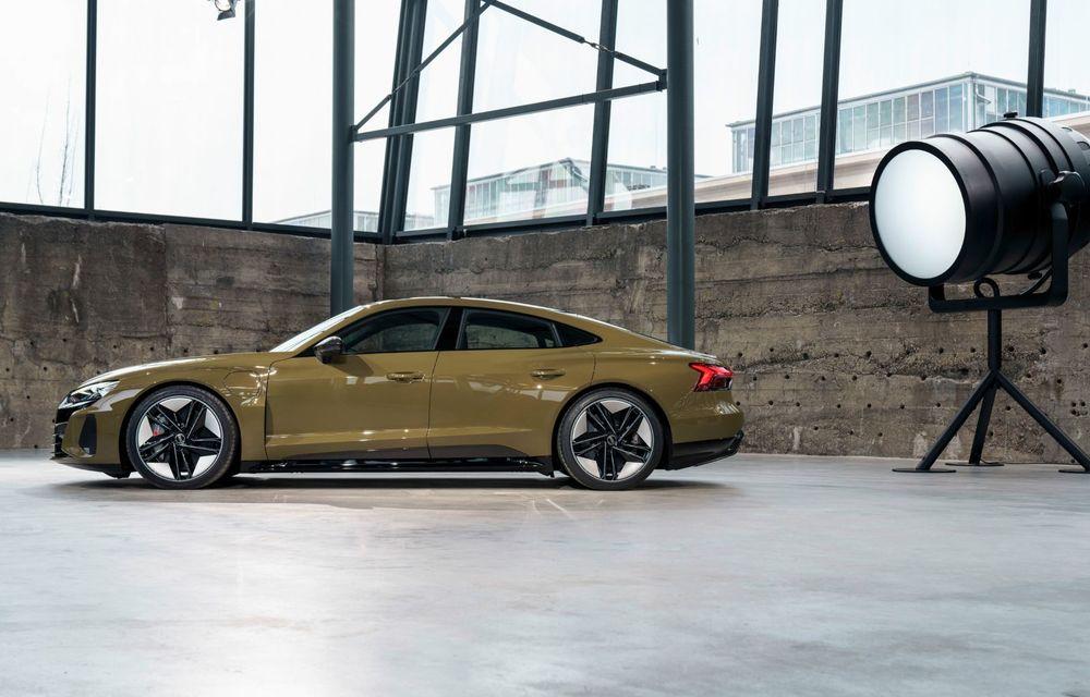 OFICIAL: Acesta este noul Audi e-tron GT, un supercar electric, frate cu Porsche Taycan - Poza 19