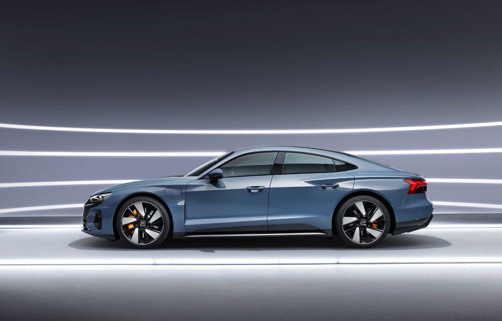 OFICIAL: Acesta este noul Audi e-tron GT, un supercar electric, frate cu Porsche Taycan - Poza 6