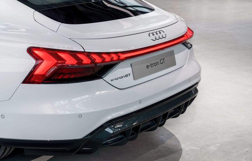 OFICIAL: Acesta este noul Audi e-tron GT, un supercar electric, frate cu Porsche Taycan - Poza 28