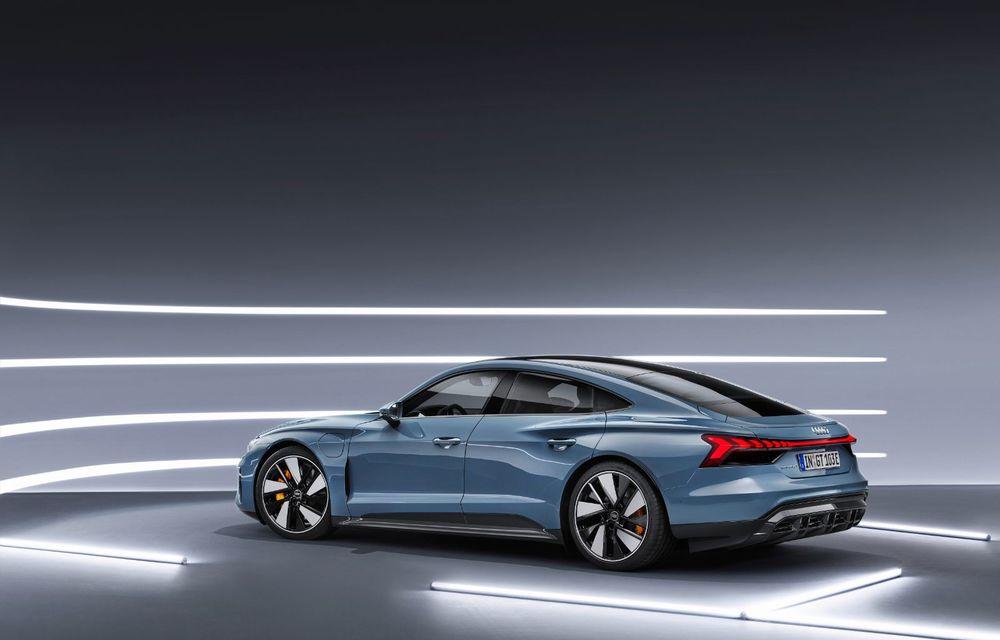 OFICIAL: Acesta este noul Audi e-tron GT, un supercar electric, frate cu Porsche Taycan - Poza 10