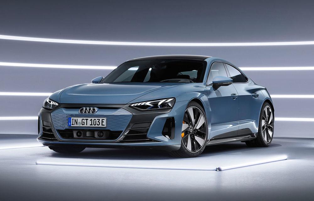 OFICIAL: Acesta este noul Audi e-tron GT, un supercar electric, frate cu Porsche Taycan - Poza 1
