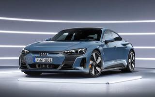 OFICIAL: Acesta este noul Audi e-tron GT, un supercar electric, frate cu Porsche Taycan