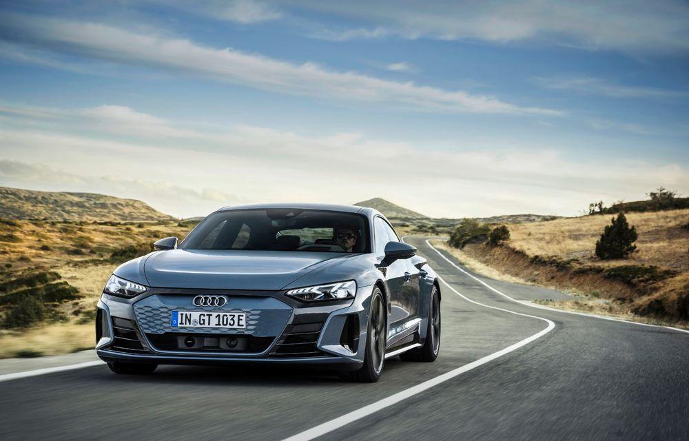 OFICIAL: Acesta este noul Audi e-tron GT, un supercar electric, frate cu Porsche Taycan - Poza 3
