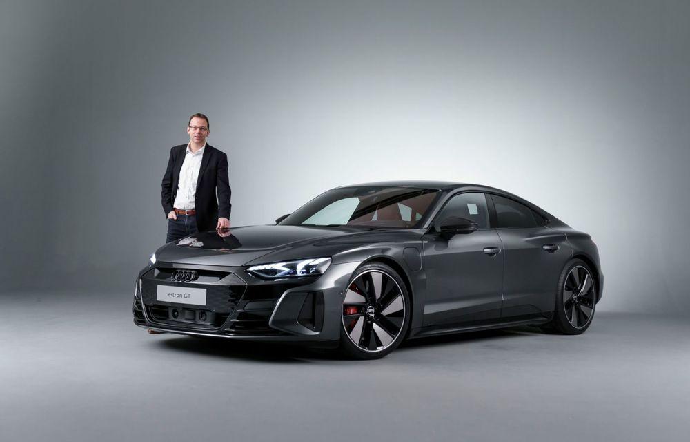 OFICIAL: Acesta este noul Audi e-tron GT, un supercar electric, frate cu Porsche Taycan - Poza 29