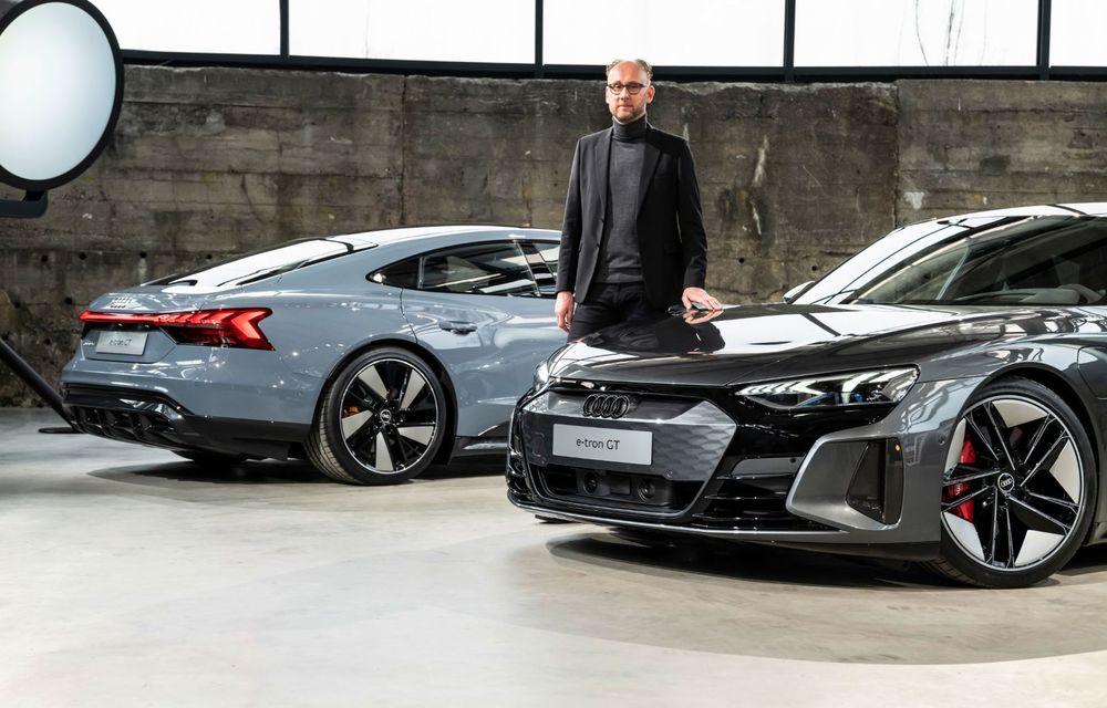 OFICIAL: Acesta este noul Audi e-tron GT, un supercar electric, frate cu Porsche Taycan - Poza 22