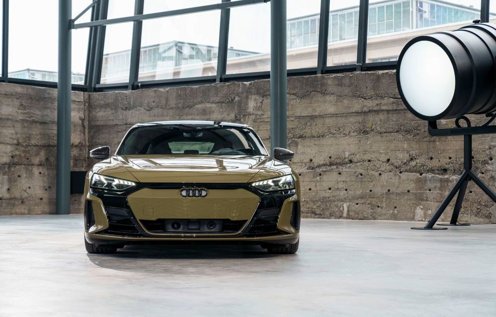OFICIAL: Acesta este noul Audi e-tron GT, un supercar electric, frate cu Porsche Taycan - Poza 23