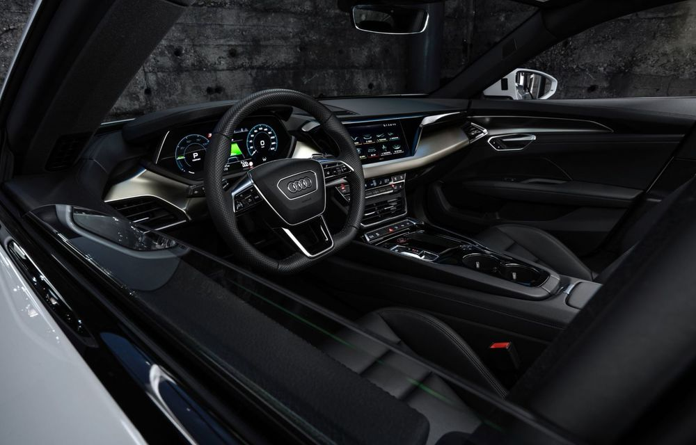 OFICIAL: Acesta este noul Audi e-tron GT, un supercar electric, frate cu Porsche Taycan - Poza 42