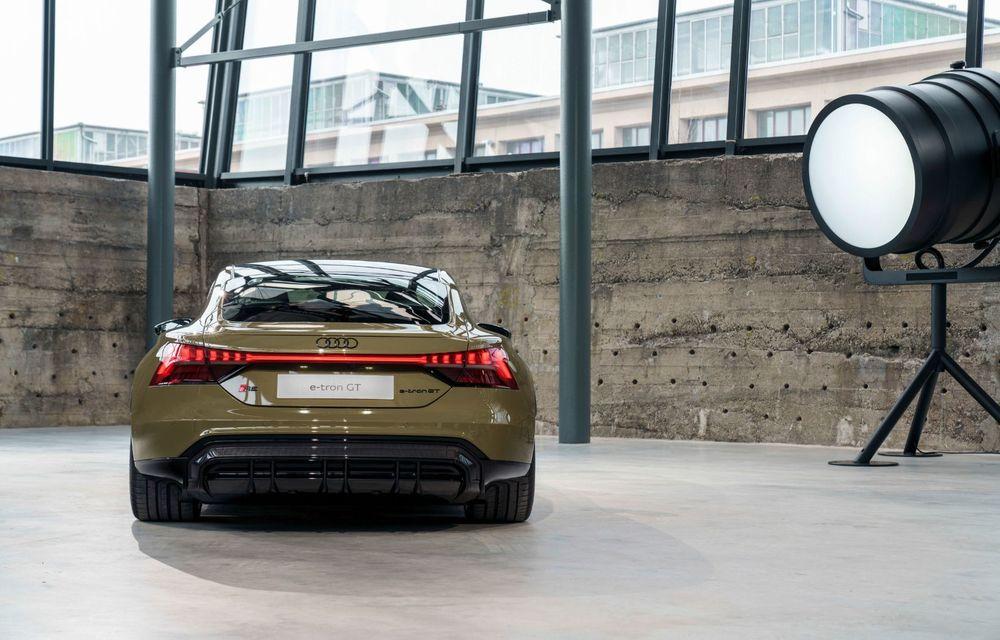 OFICIAL: Acesta este noul Audi e-tron GT, un supercar electric, frate cu Porsche Taycan - Poza 24