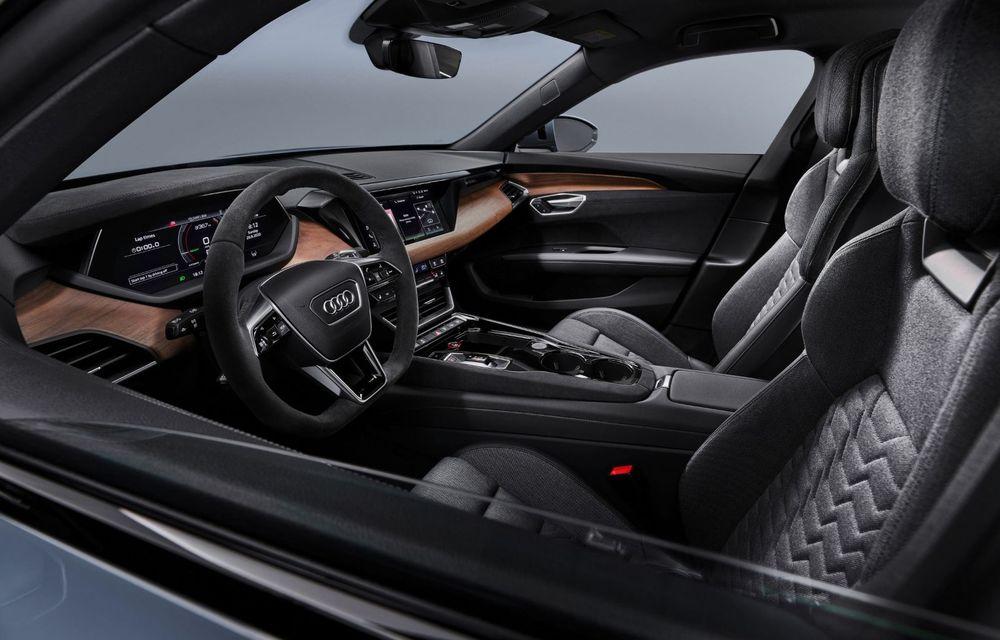 OFICIAL: Acesta este noul Audi e-tron GT, un supercar electric, frate cu Porsche Taycan - Poza 35