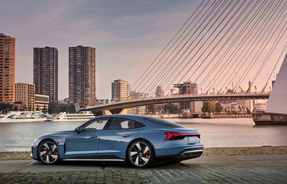 OFICIAL: Acesta este noul Audi e-tron GT, un supercar electric, frate cu Porsche Taycan - Poza 4