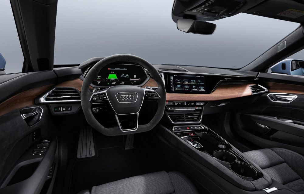 OFICIAL: Acesta este noul Audi e-tron GT, un supercar electric, frate cu Porsche Taycan - Poza 33