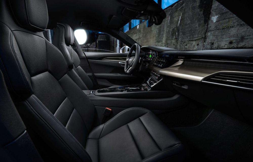OFICIAL: Acesta este noul Audi e-tron GT, un supercar electric, frate cu Porsche Taycan - Poza 41