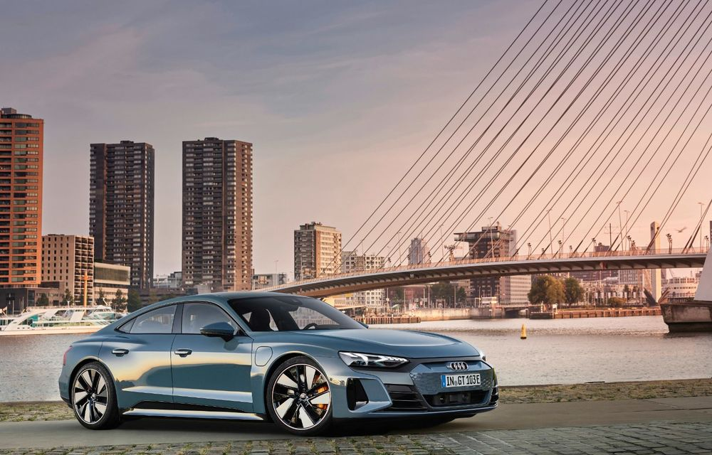 OFICIAL: Acesta este noul Audi e-tron GT, un supercar electric, frate cu Porsche Taycan - Poza 11