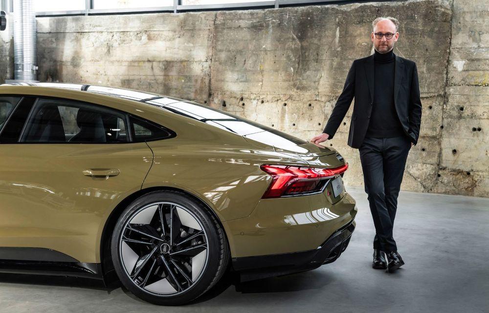 OFICIAL: Acesta este noul Audi e-tron GT, un supercar electric, frate cu Porsche Taycan - Poza 15