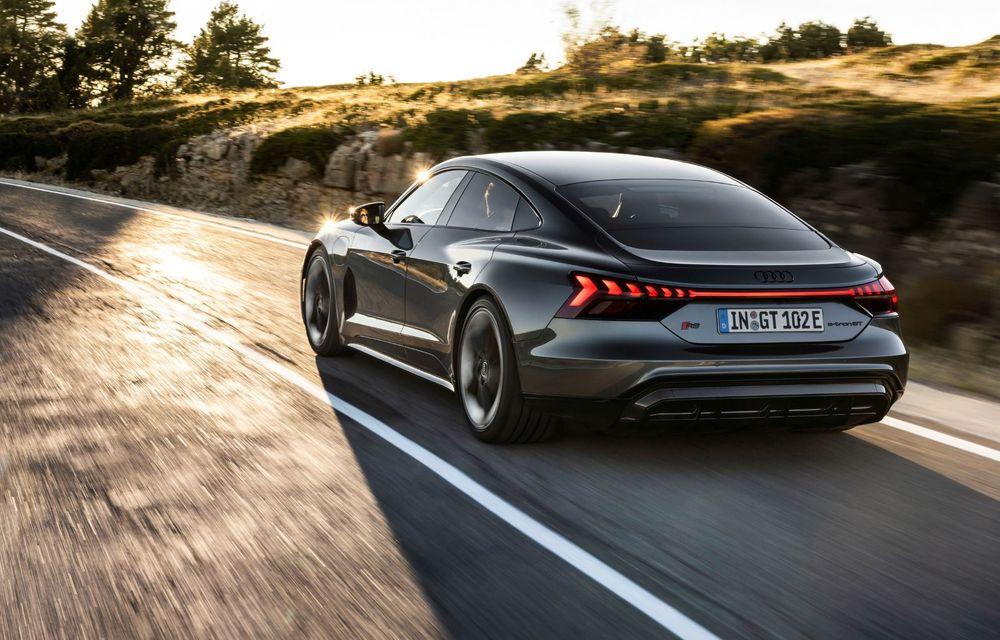 OFICIAL: Acesta este noul Audi e-tron GT, un supercar electric, frate cu Porsche Taycan - Poza 47