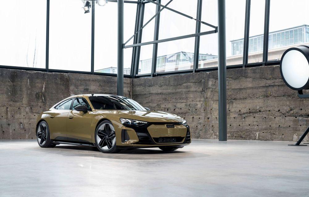 OFICIAL: Acesta este noul Audi e-tron GT, un supercar electric, frate cu Porsche Taycan - Poza 20
