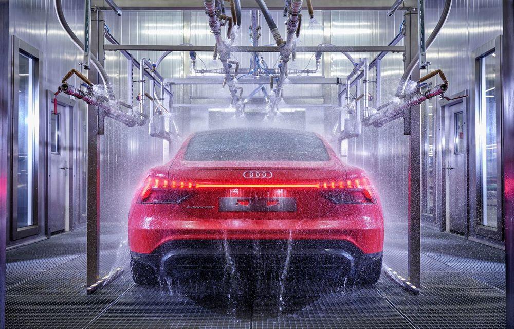 OFICIAL: Acesta este noul Audi e-tron GT, un supercar electric, frate cu Porsche Taycan - Poza 54