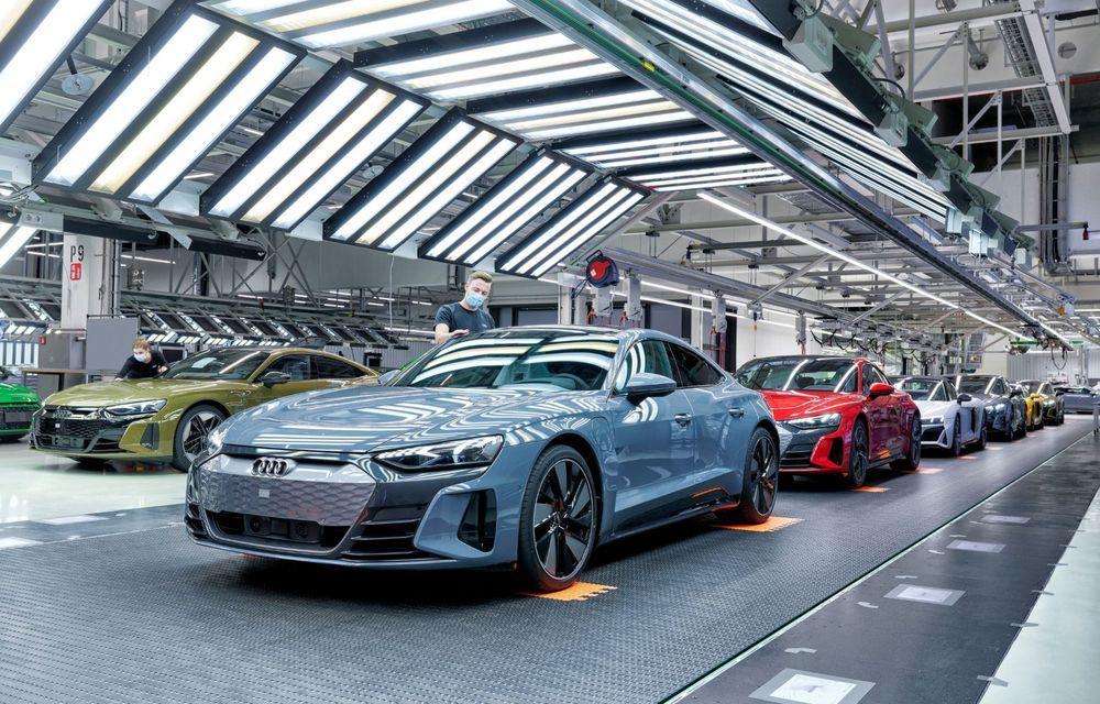 OFICIAL: Acesta este noul Audi e-tron GT, un supercar electric, frate cu Porsche Taycan - Poza 52