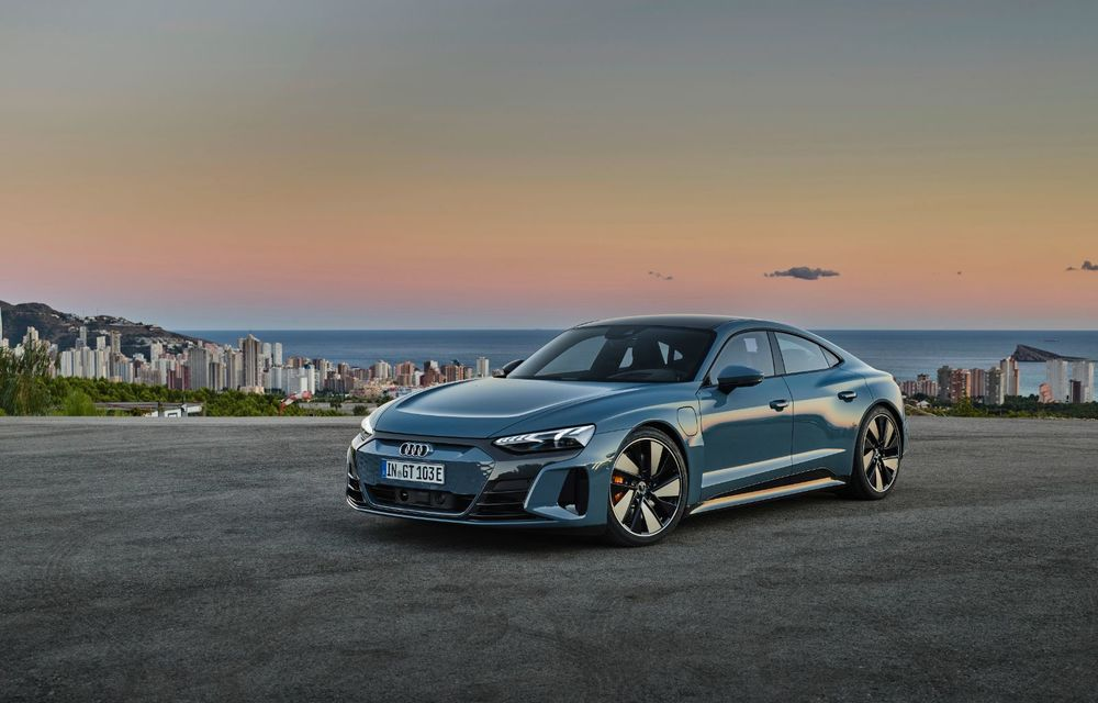 OFICIAL: Acesta este noul Audi e-tron GT, un supercar electric, frate cu Porsche Taycan - Poza 8