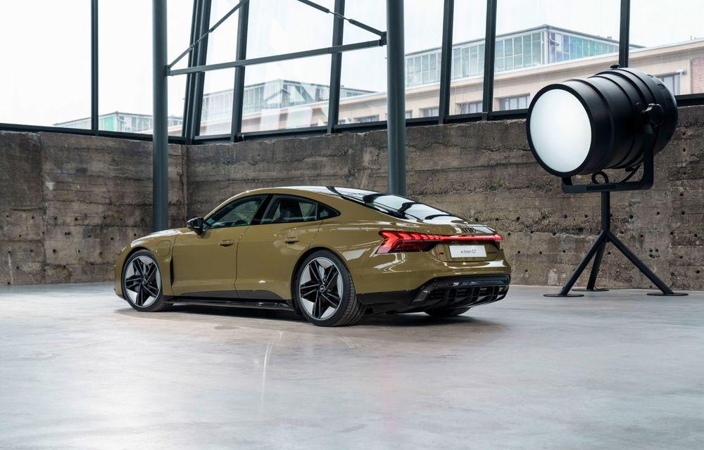 OFICIAL: Acesta este noul Audi e-tron GT, un supercar electric, frate cu Porsche Taycan - Poza 21
