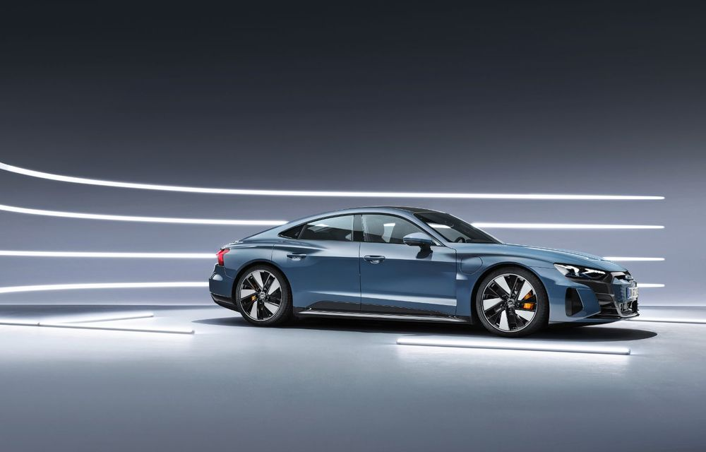 OFICIAL: Acesta este noul Audi e-tron GT, un supercar electric, frate cu Porsche Taycan - Poza 5
