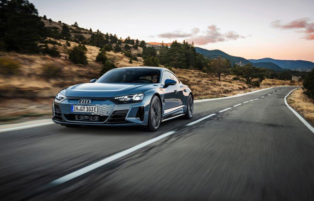 OFICIAL: Acesta este noul Audi e-tron GT, un supercar electric, frate cu Porsche Taycan - Poza 9