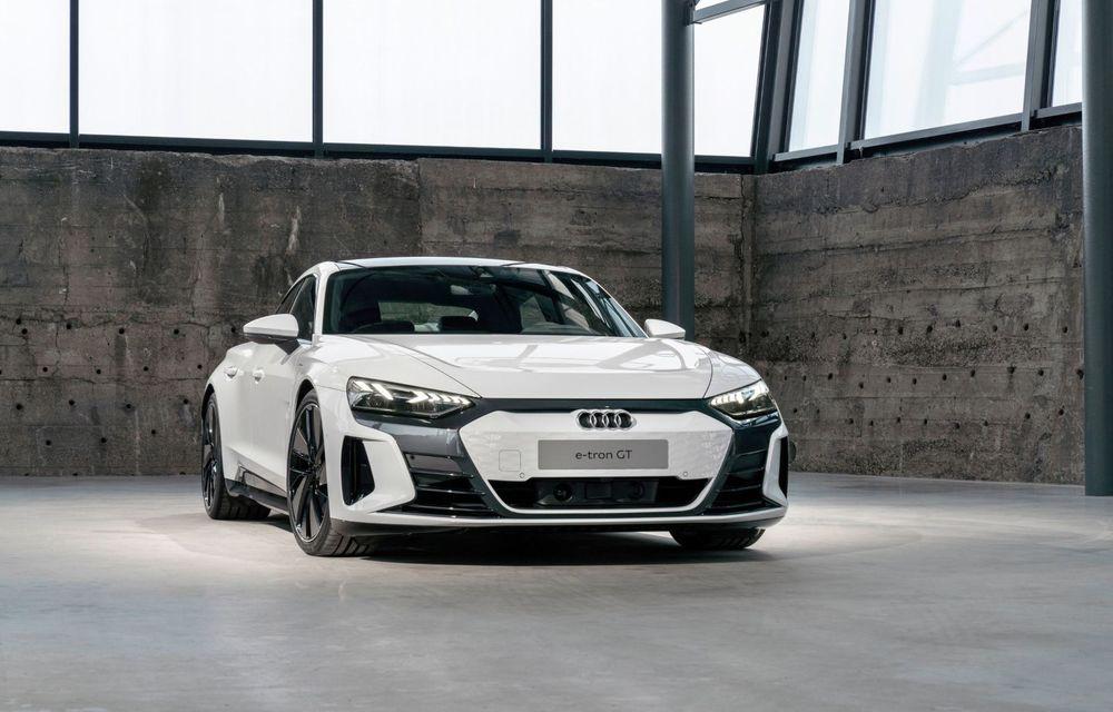 OFICIAL: Acesta este noul Audi e-tron GT, un supercar electric, frate cu Porsche Taycan - Poza 32