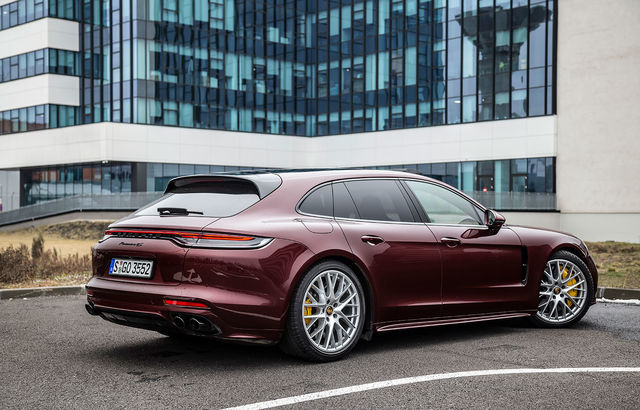 Test drive Porsche Panamera Sport Turismo
