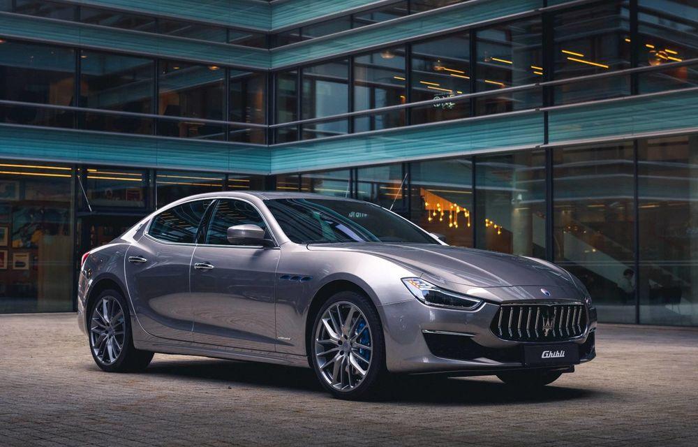 Prețuri pentru Maserati Ghibli facelift în România: start de la 75.000 de euro pentru rivalul lui BMW Seria 5 - Poza 1