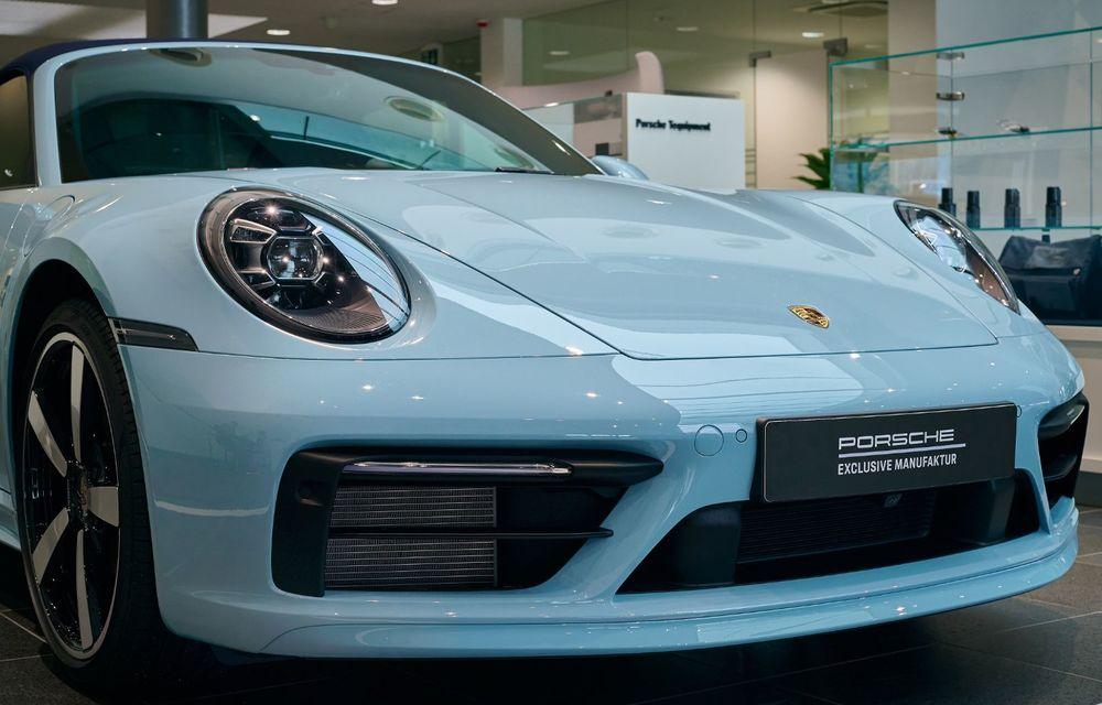 Porsche Exclusive Manufaktur, inaugurat la București: românii își pot personaliza mașina chiar și la noi în țară - Poza 6