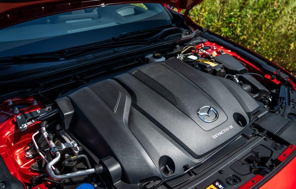 Mazda îmbunătățește motorul Skyactiv-X: putere în plus și consum mai mic de combustibil - Poza 1