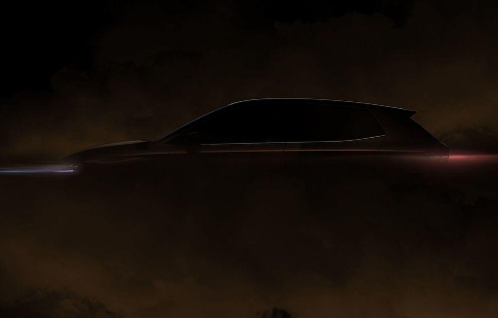 Škoda publică primul teaser cu noua generație Fabia: modelul va fi prezentat în primăvară - Poza 1