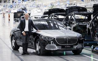 Sărbătoare la Mercedes: nemții au atins o producție de 50 de milioane de mașini