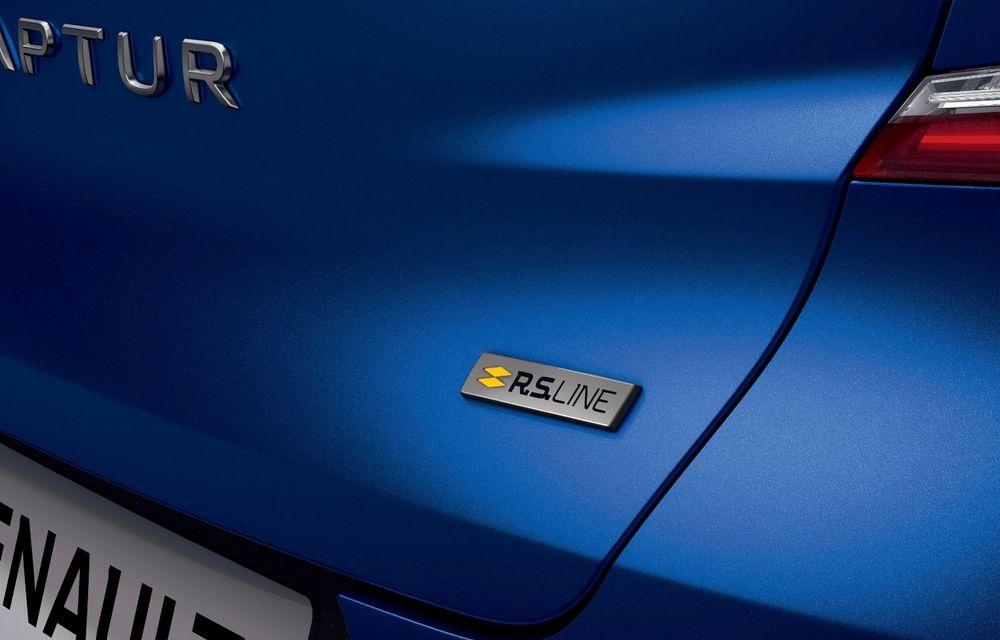 Renault Captur primește nivelul de echipare RS Line - Poza 13
